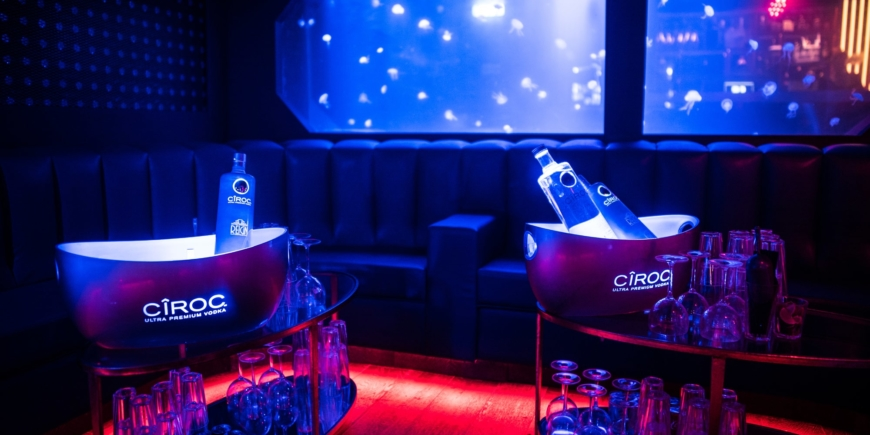 Cirque le soir vip table booking