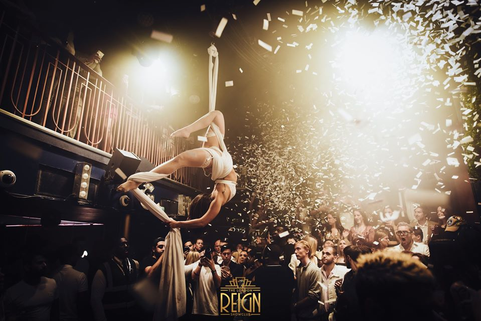 tuesday at reign showclub