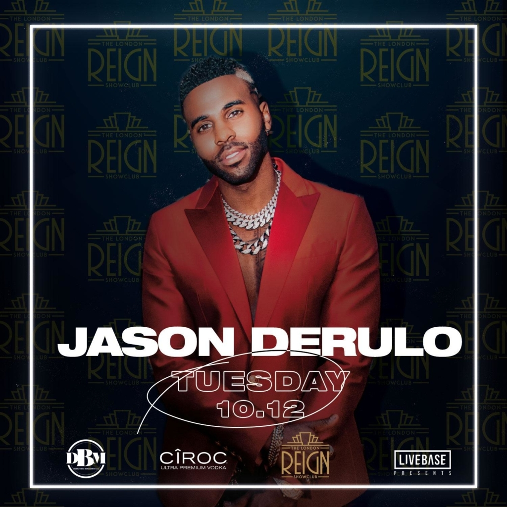 Jason Derulo performes At Reign