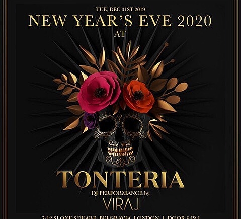 New Year's Eve at Tonteria Nightclub