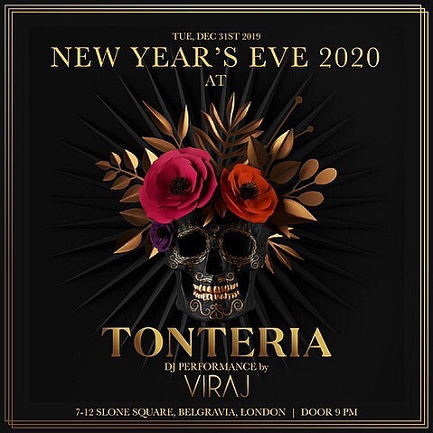 new year eve booking at tonteria